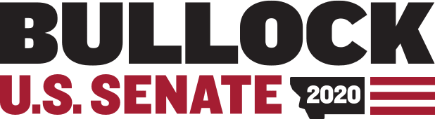 Bullock for US Senate Logo